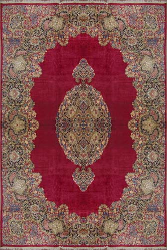 Ancient Persian Rug Motifs Picture Of Kerman Design